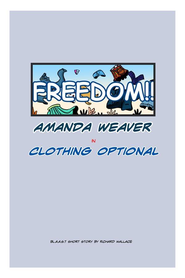 Amanda Weaver:  Cover