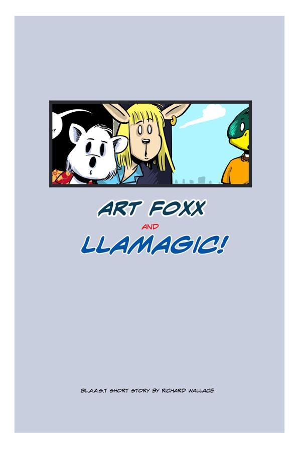 Art Foxx:  Cover