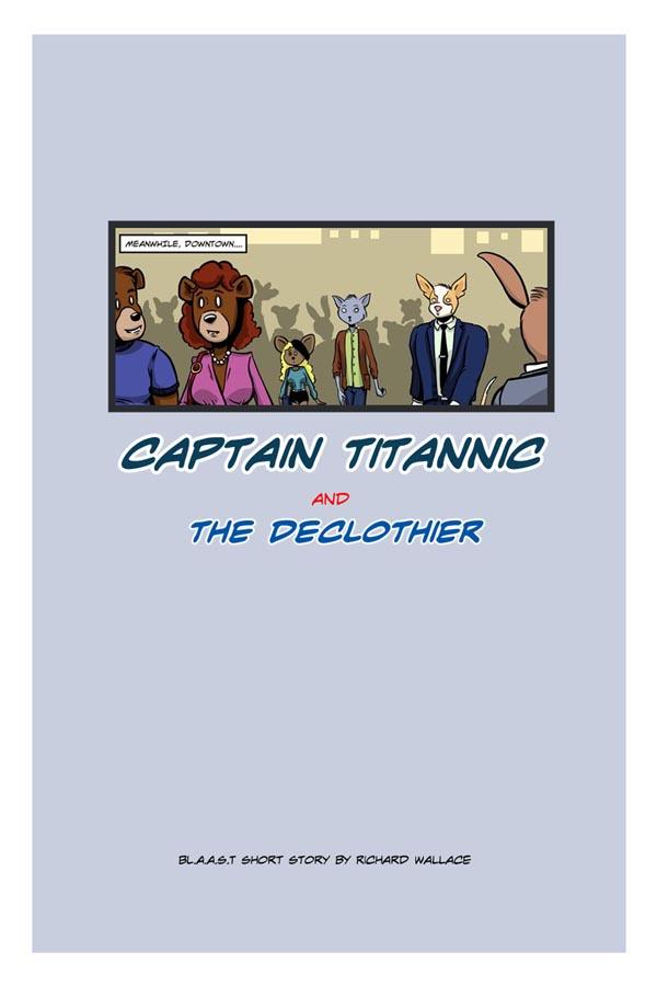 Captain Titannic:  Cover