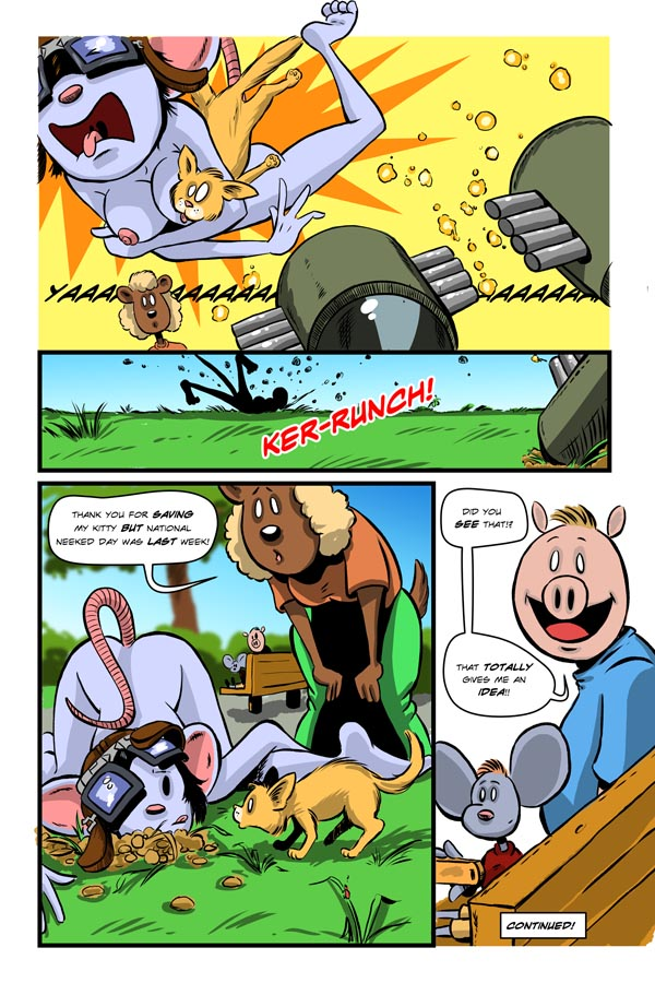 Rocket Mouse:  Page 6