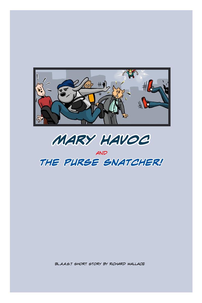 Mary Havoc:  Cover